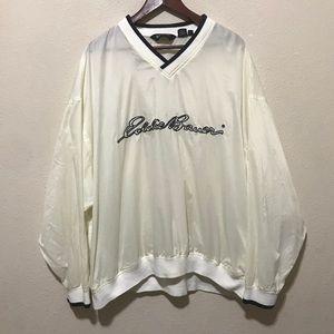 Eddie Bauer Vintage Windbreak Spellout Size XXL